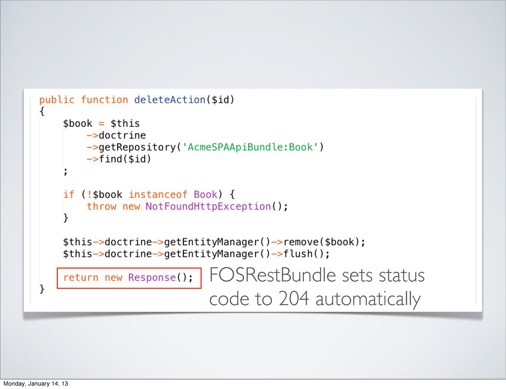 FOSRestBundle sets status code to 204 automatic...