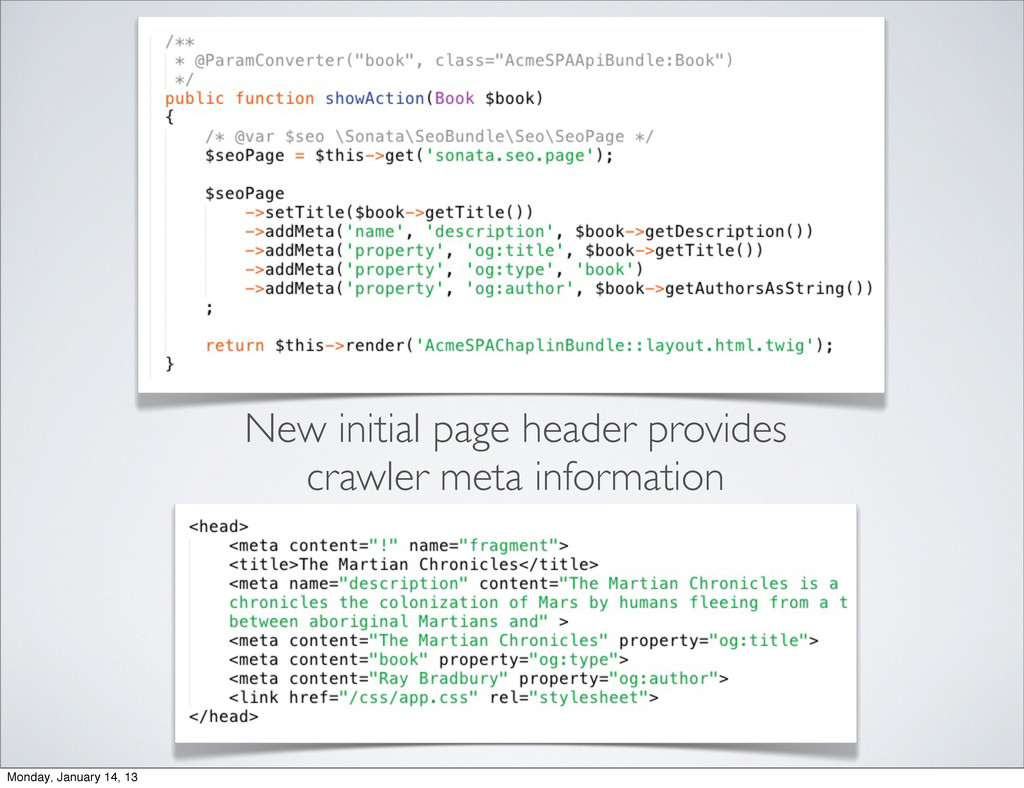 New initial page header provides crawler meta i...