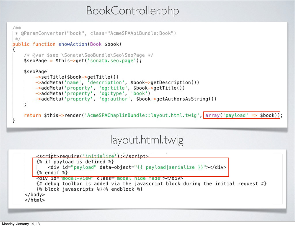 BookController.php layout.html.twig Monday, Jan...