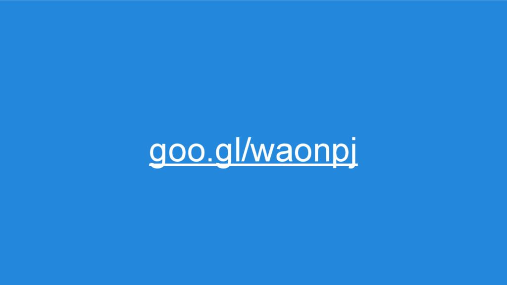goo.gl/waonpj