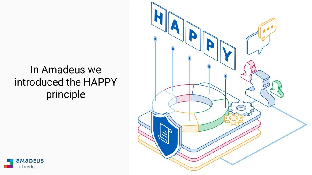 In Amadeus we introduced the HAPPY principle