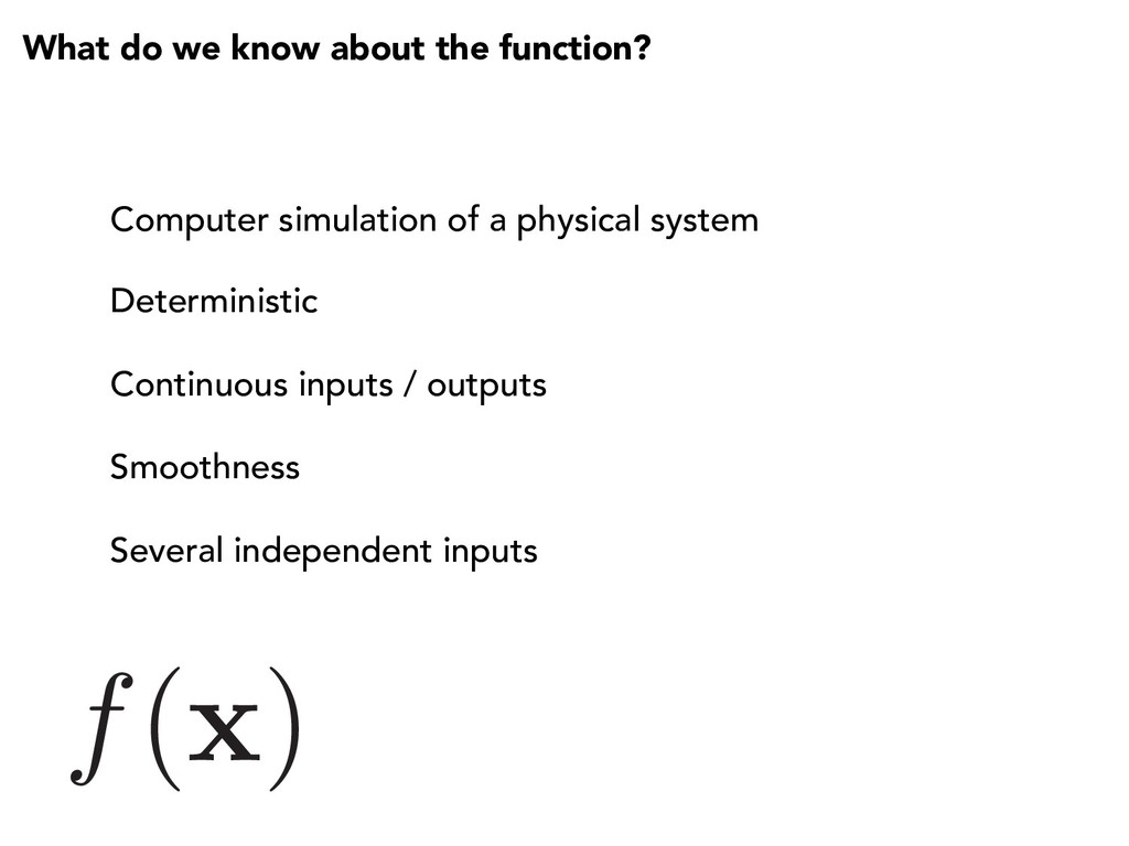 f( x ) What do we know about the function? Comp...