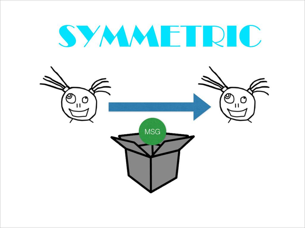 SYMMETRIC MSG
