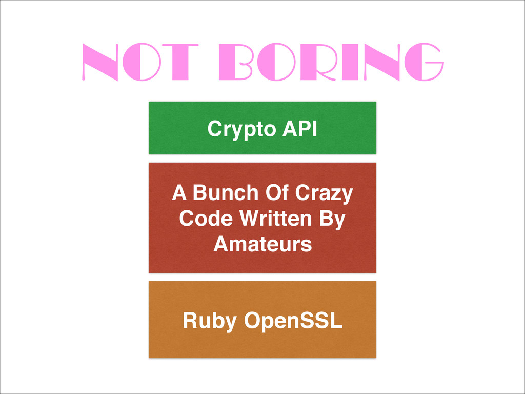 NOT BORING Ruby OpenSSL A Bunch Of Crazy Code W...