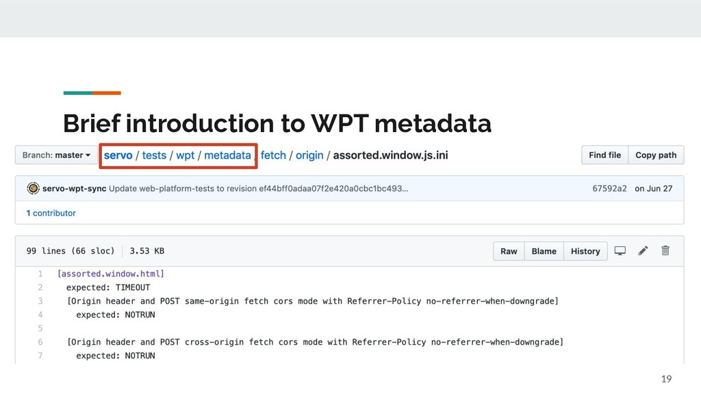 Brief introduction to WPT metadata 19