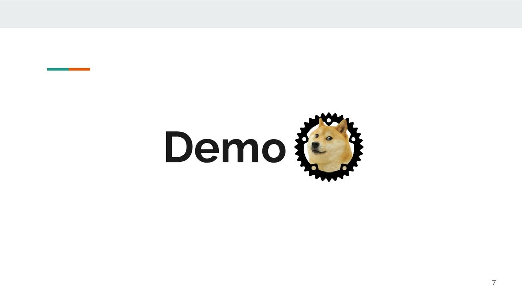 Demo 7