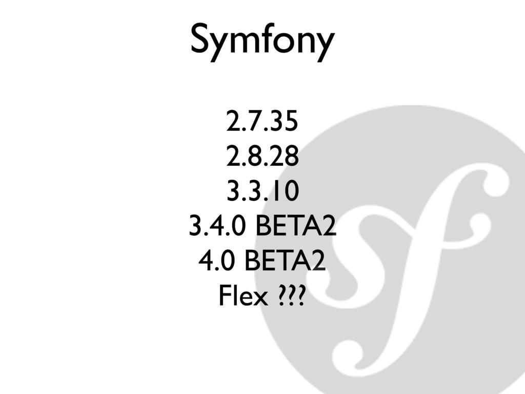 Symfony 2.7.35 2.8.28 3.3.10 3.4.0 BETA2 4.0 BE...