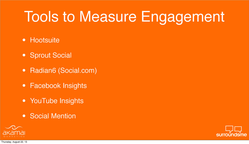 Tools to Measure Engagement • Hootsuite • Sprou...