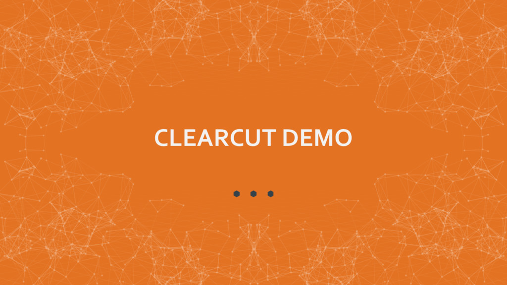 CLEARCUT DEMO
