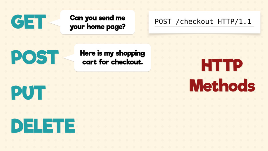 GET Can you send me your home page? POST Here i...