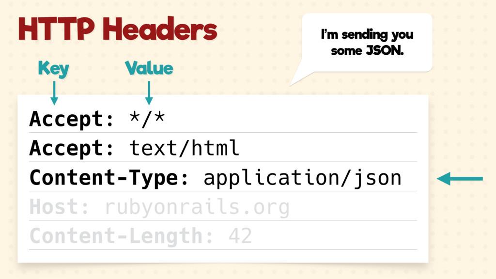 I'm sending you some JSON. Accept: */* Accept: ...