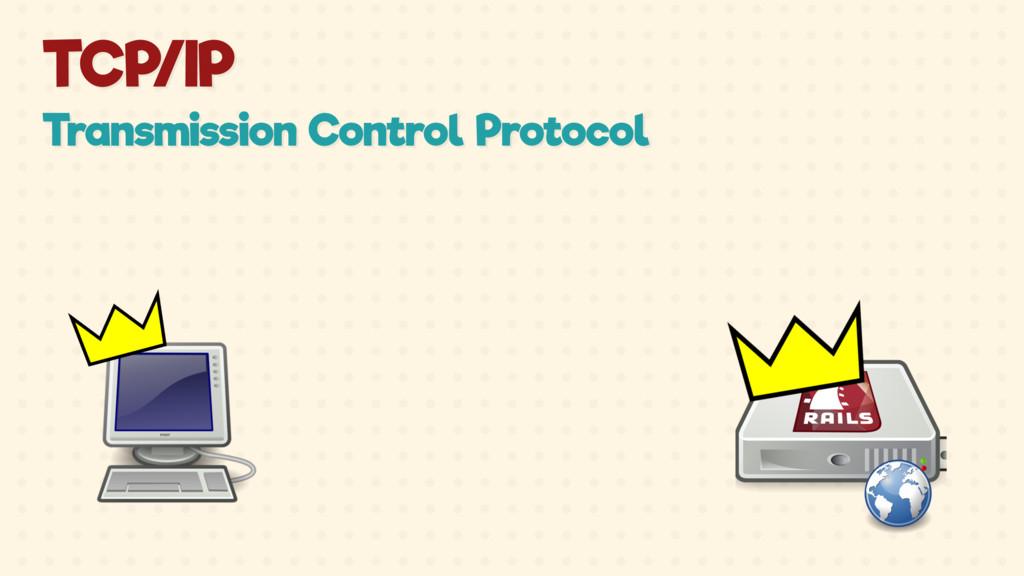 TCP/IP Transmission Control Protocol