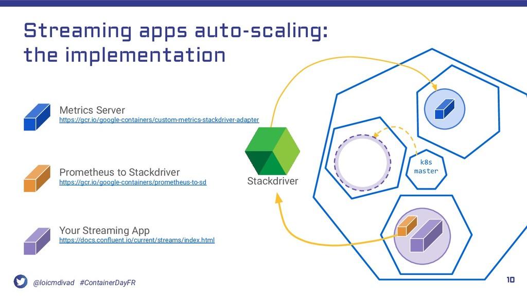 @loicmdivad #ContainerDayFR Streaming apps auto...