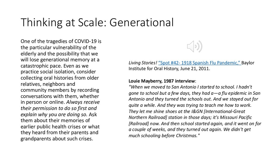 Thinking at Scale: Generational One of the trag...