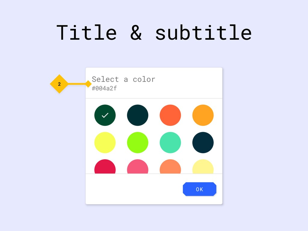 Title & subtitle 2