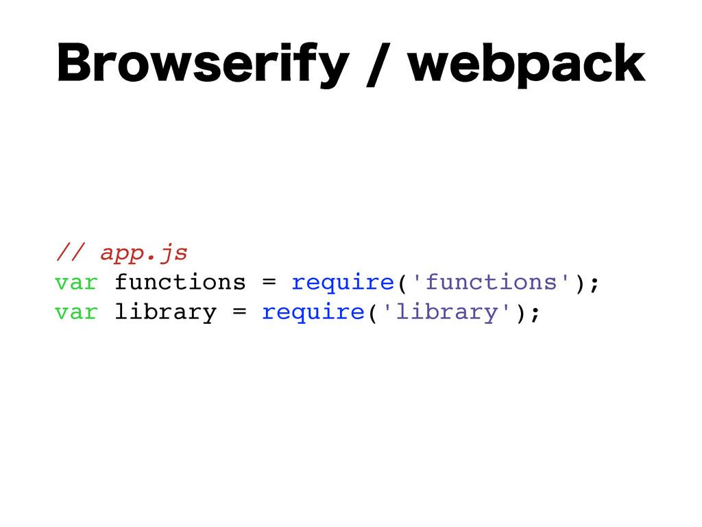 #SPXTFSJGZXFCQBDL // app.js var functions = ...