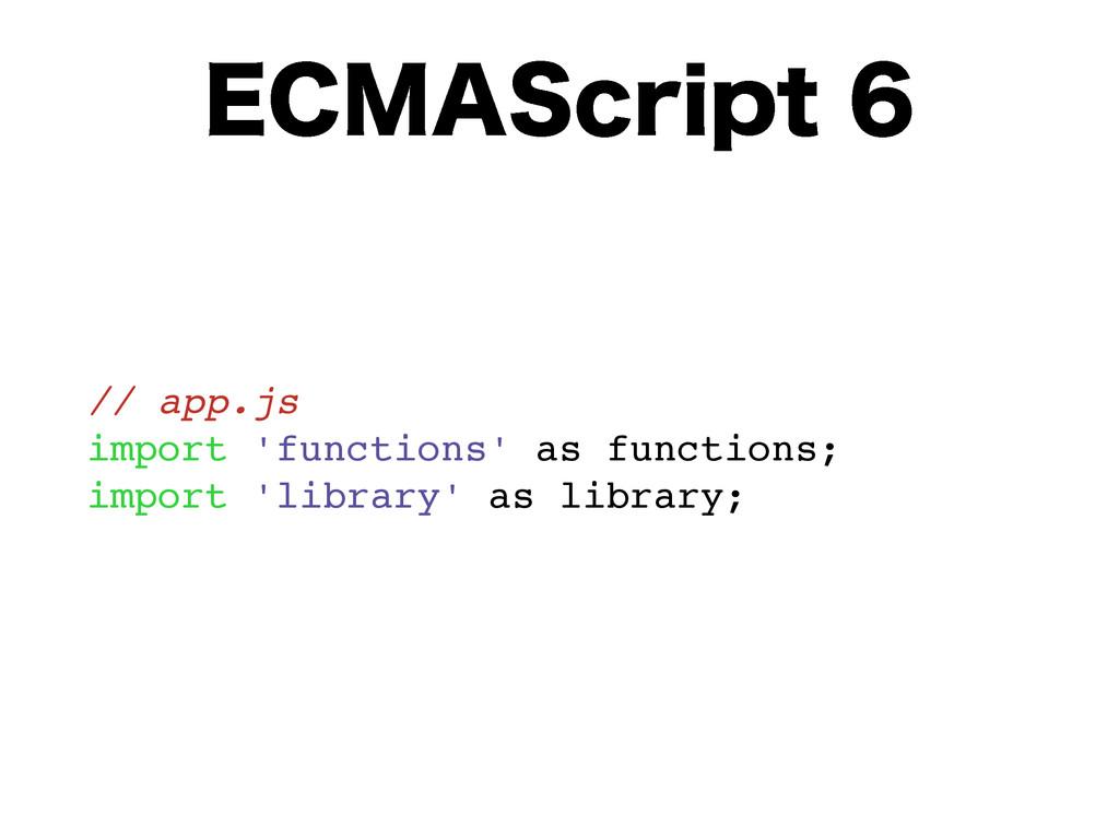 "&$.""4DSJQU // app.js import 'functions' as fu..."