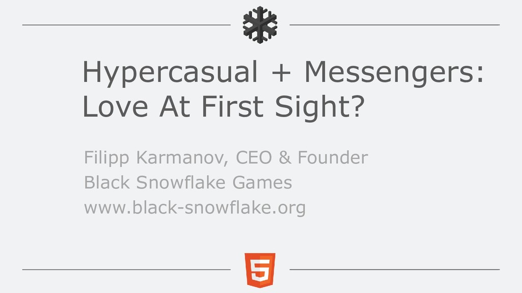 Hypercasual + Messengers: Love At First Sight? ...