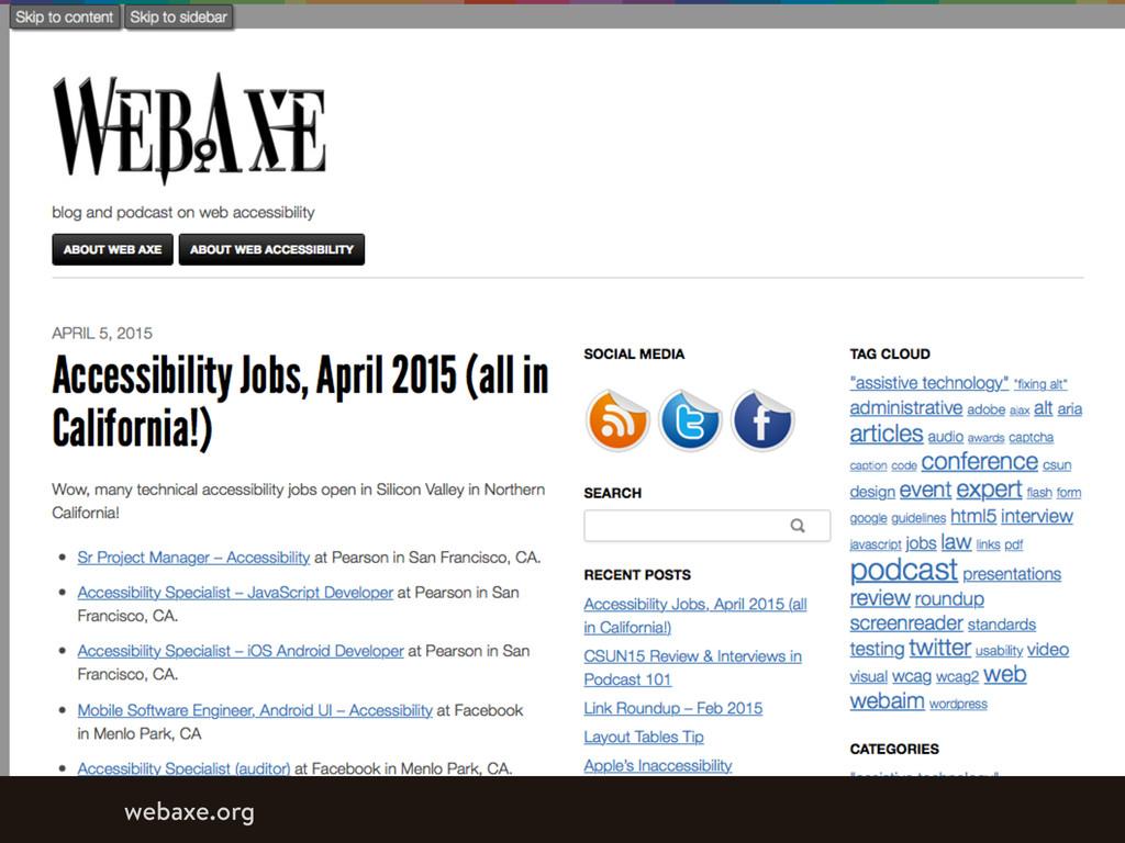 webaxe.org