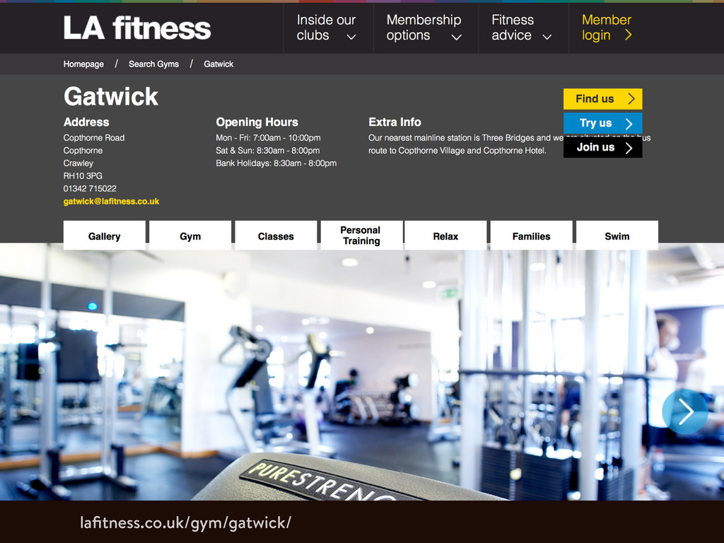 lafitness.co.uk/gym/gatwick/