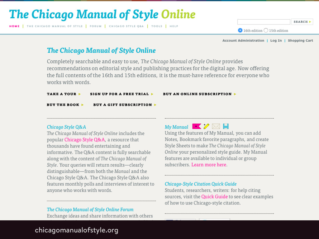chicagomanualofstyle.org