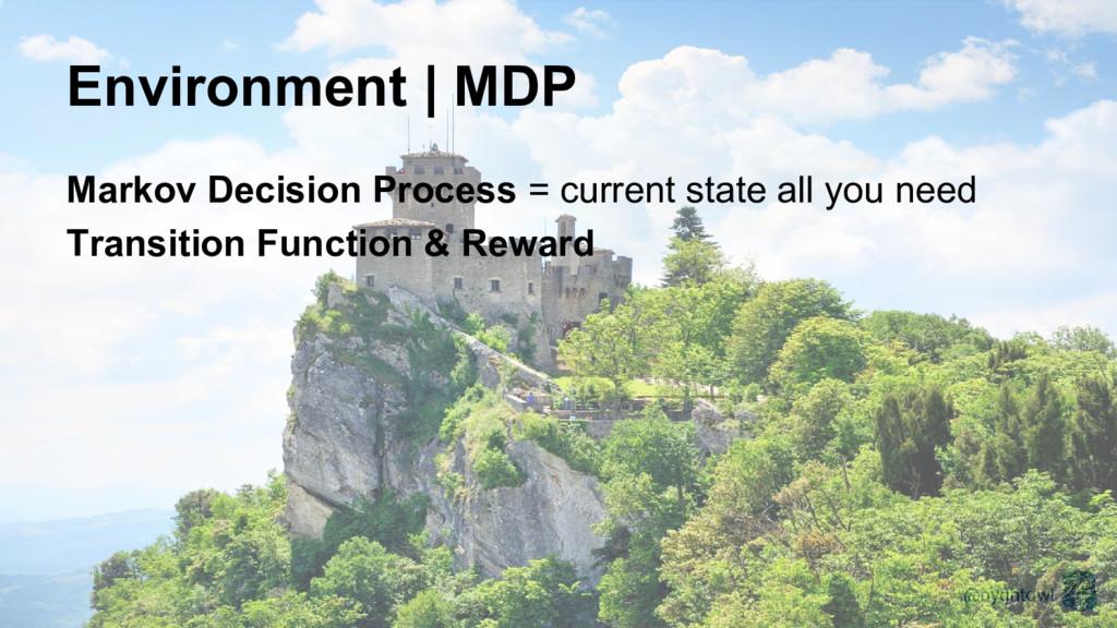 @nyghtowl Environment | MDP Markov Decision Pro...