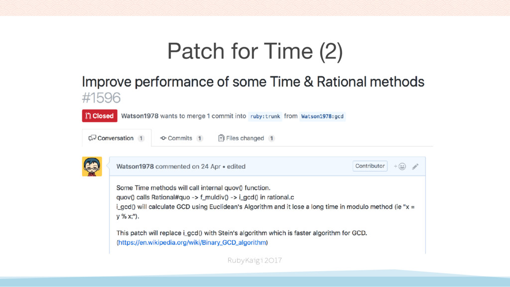 Patch for Time (2)