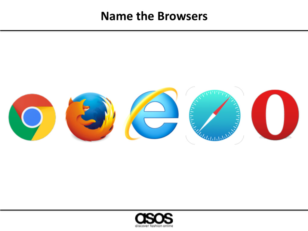 Name the Browsers