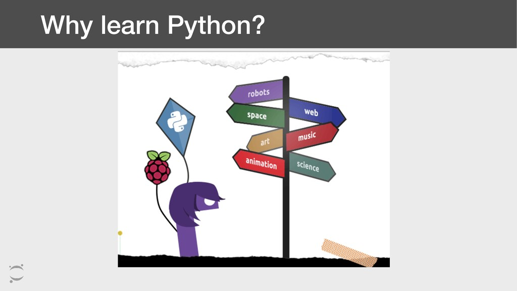 Why learn Python?