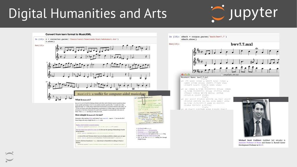 Digital Humanities and Arts