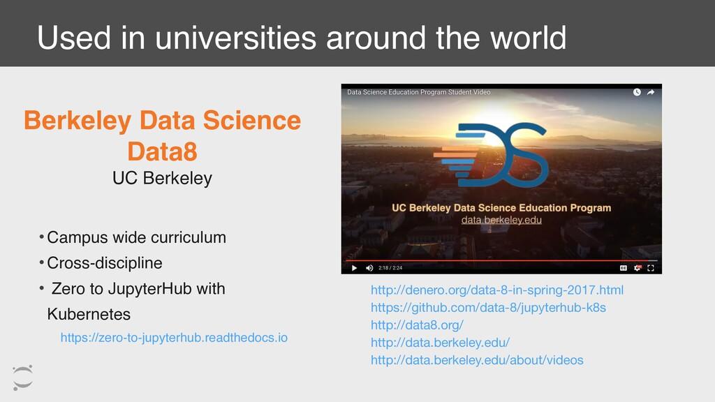 Used in universities around the world Berkeley ...