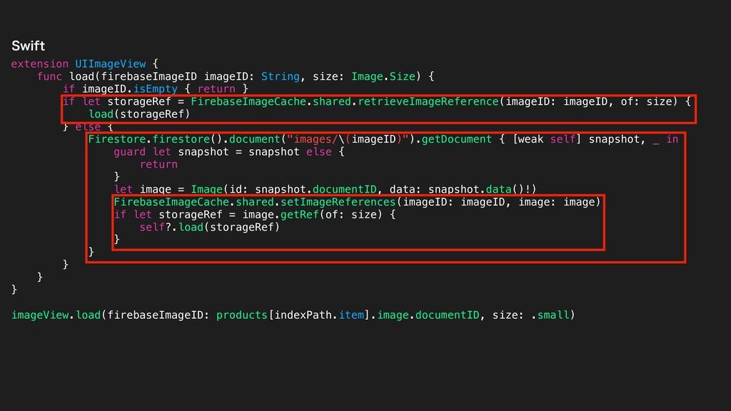 extension UIImageView { func load(firebaseImage...