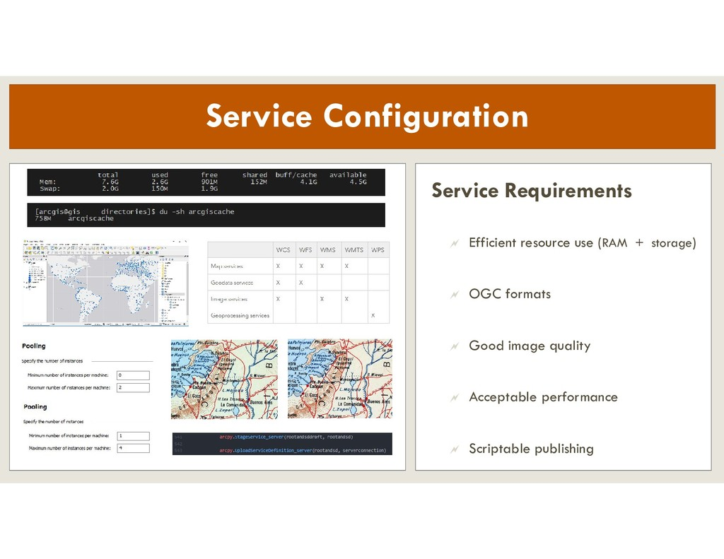 Service Requirements  Efficient resource use (...