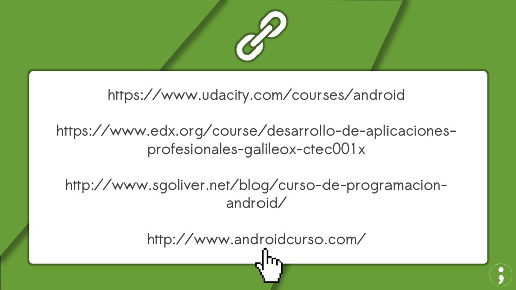 https://www.udacity.com/courses/android https:/...
