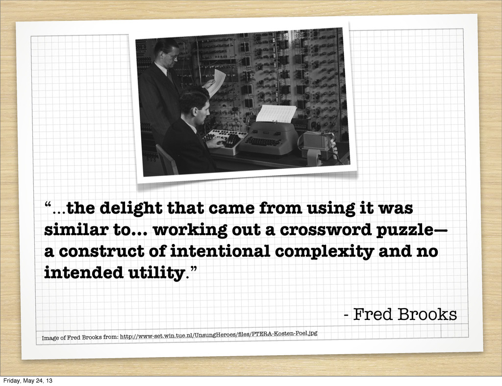 Image of Fred Brooks from: http://www-set.win.t...