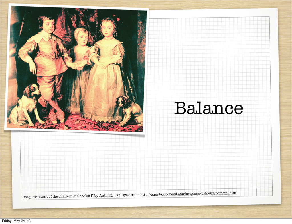"Balance Image ""Portrait of the children of Char..."