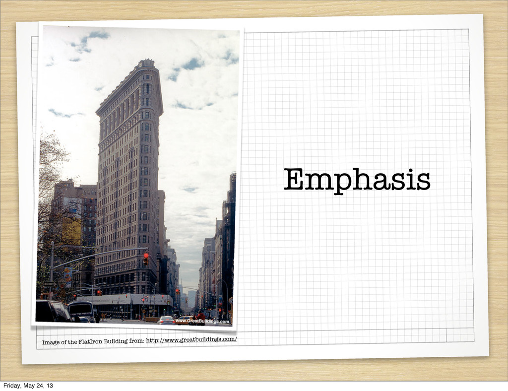 Emphasis Image of the FlatIron Building from: h...