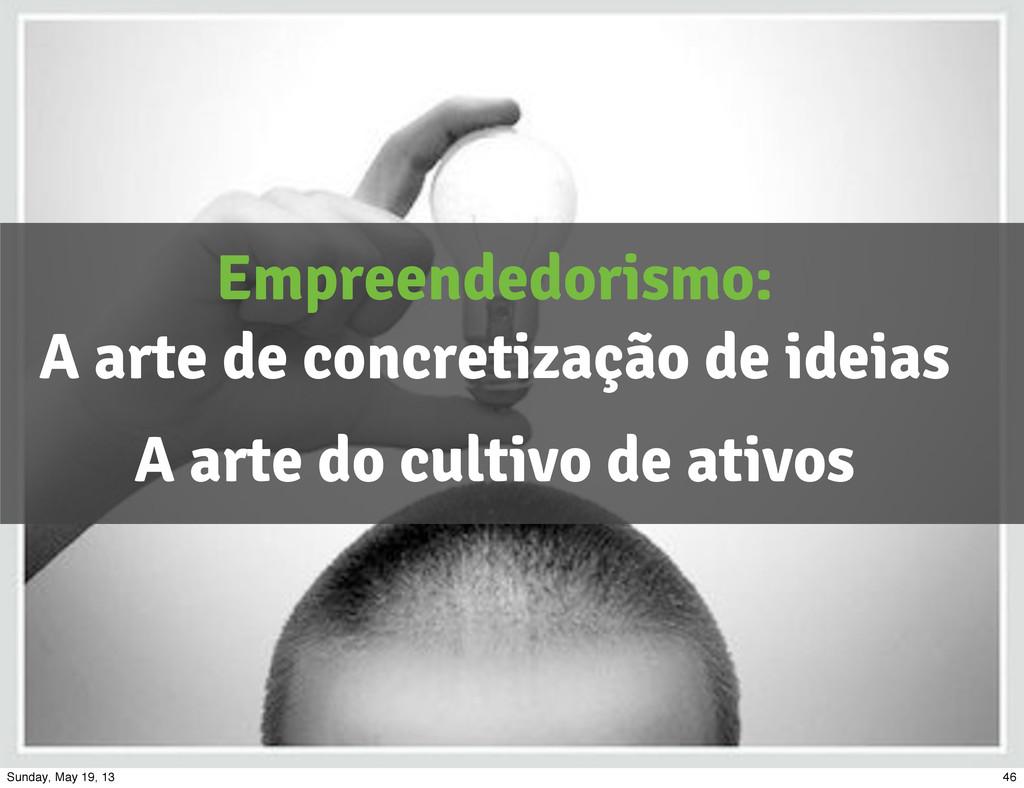 Empreendedorismo: A arte de concretização de id...