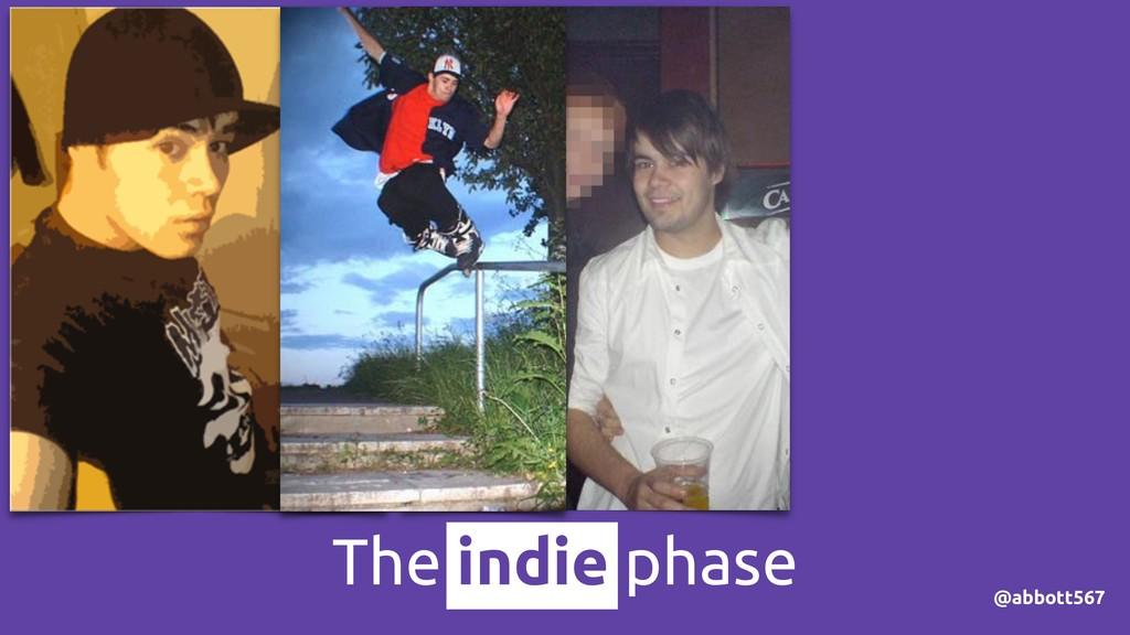@abbott567 The indie phase