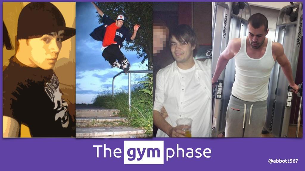 @abbott567 The gym phase