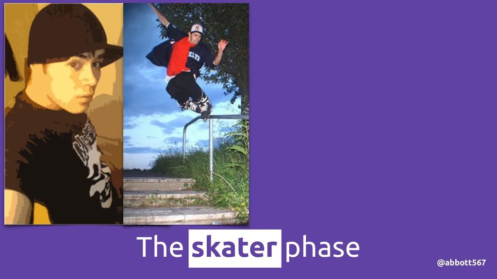 @abbott567 The skater phase