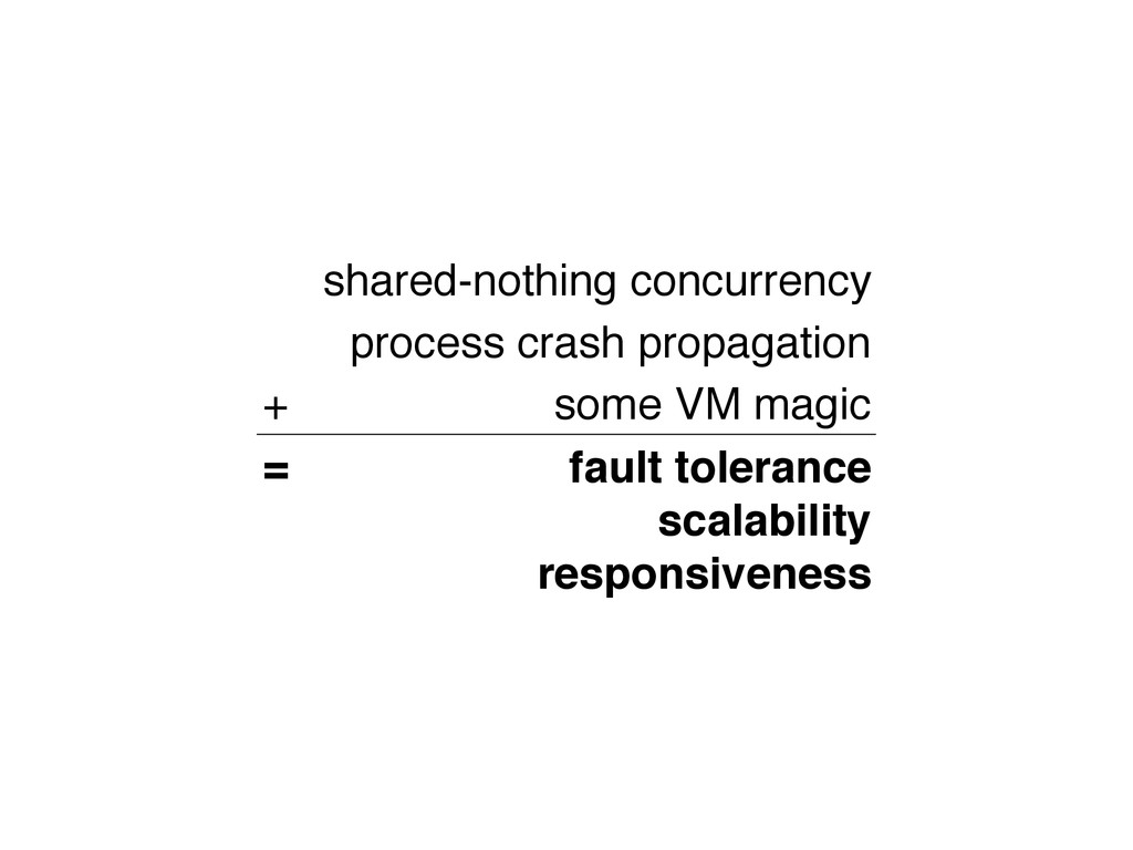 shared-nothing concurrency process crash propag...