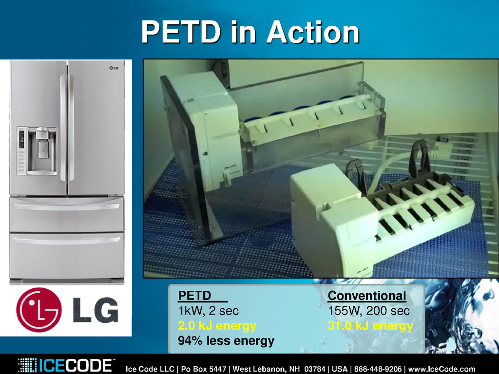 PETD in Action Ice Code LLC | Po Box 5447 | Wes...