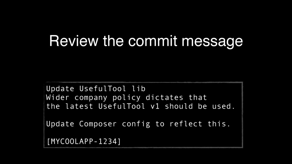 Review the commit message Update UsefulTool lib...