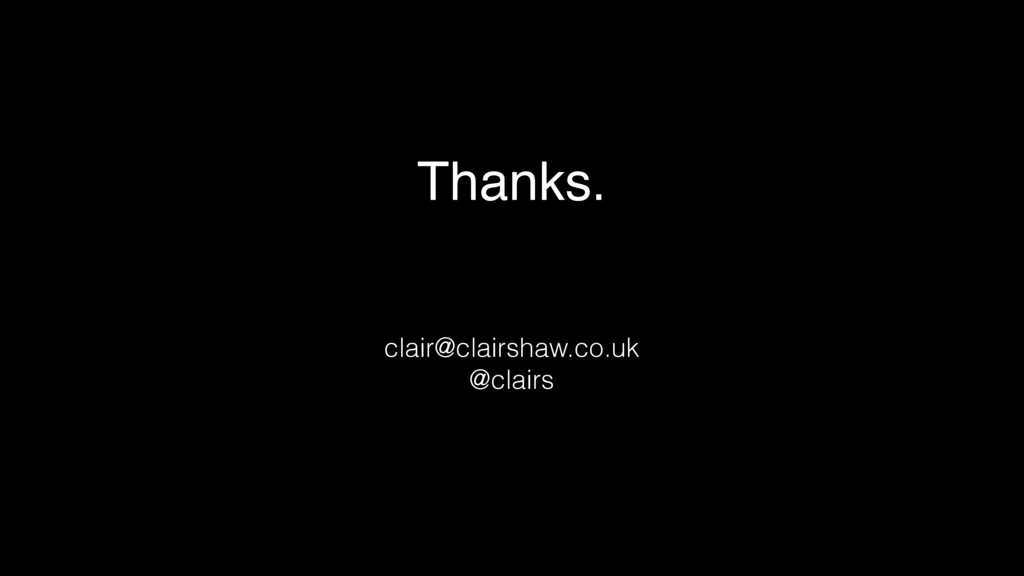 Thanks. 