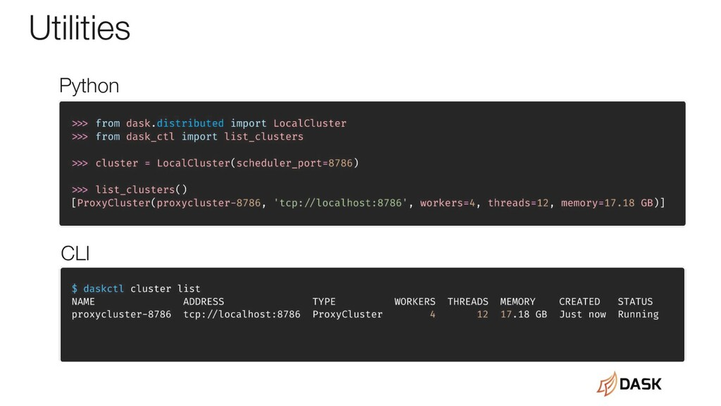 Utilities Python CLI