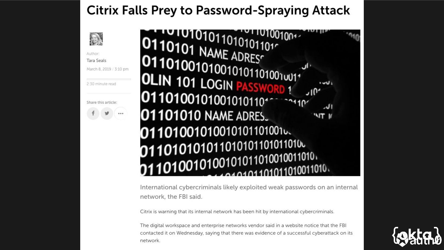 Come on, tell me who are you?