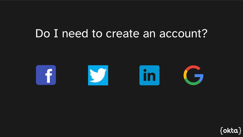 Do I need to create an account?