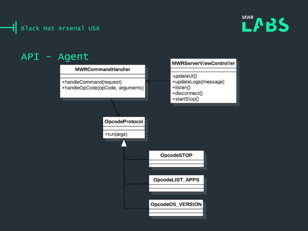 API - Agent Black Hat Arsenal USA