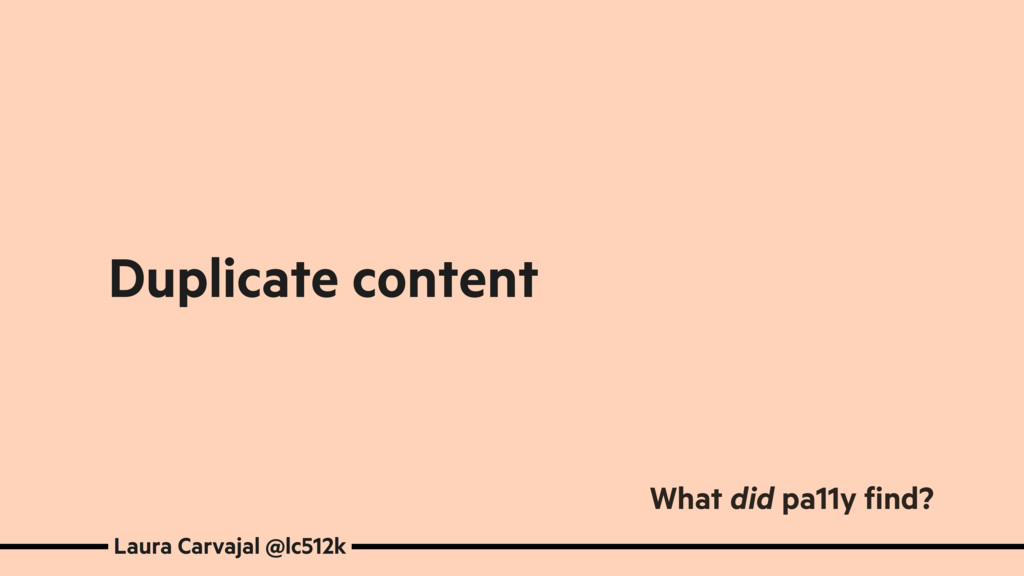 Duplicate content Laura Carvajal @lc512k What d...